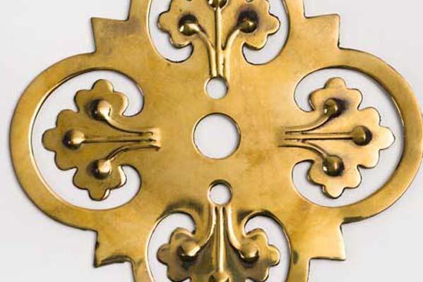 Brass Back Plate