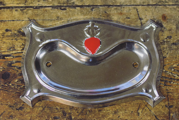 Catholic Backplate