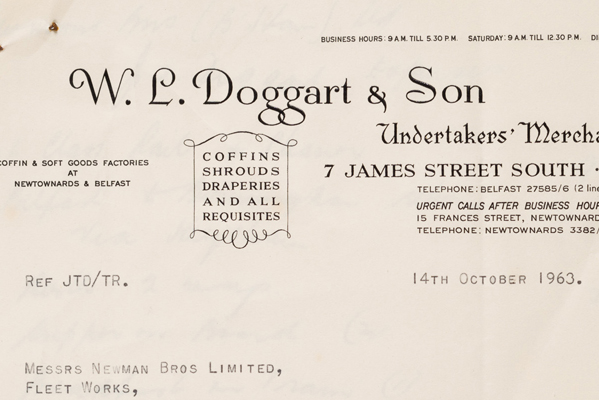 Document – W. L. Doggart