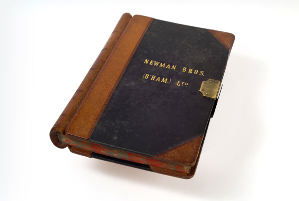 Gateway Object Newman Brothers' Ledger