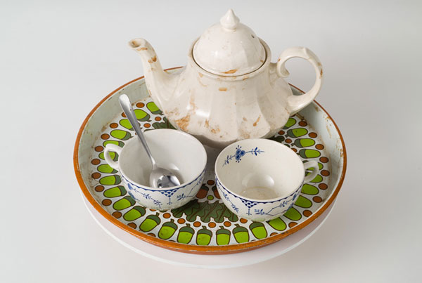 Gateway Object – Teapot and Cups on Tray